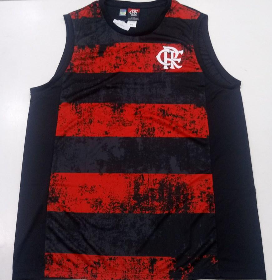 Regata Flamengo Braziline Rent Masculina - Preta