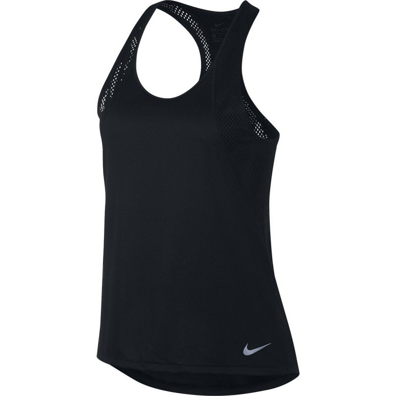 Regata Nike Top Longo Running Tank Feminino - Preto