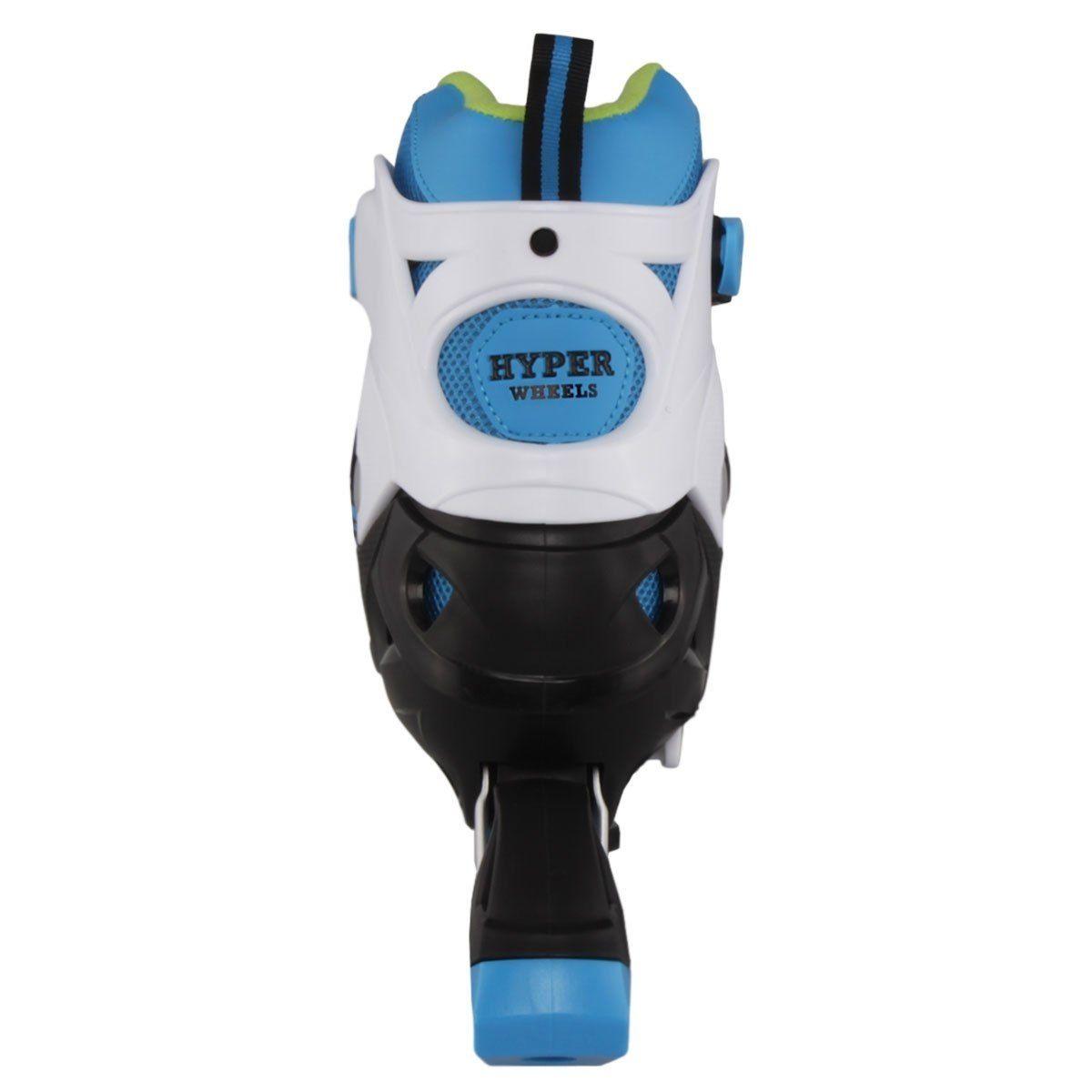 Roller Hyper Sports Regulável 72mm - Azul Bebê - 34 ao 37