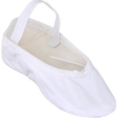Sapatilha de Ballet Meia Ponta Só Dança - 33 ao 44 - Branca