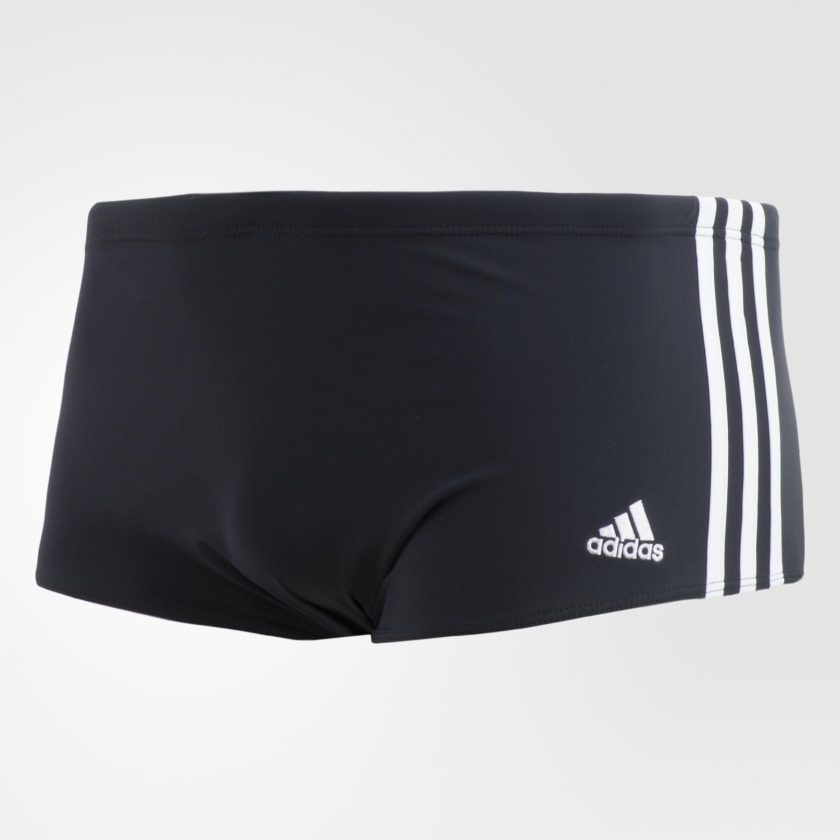 Sunga Adidas 3 Stripes Wide Adulto - Preta
