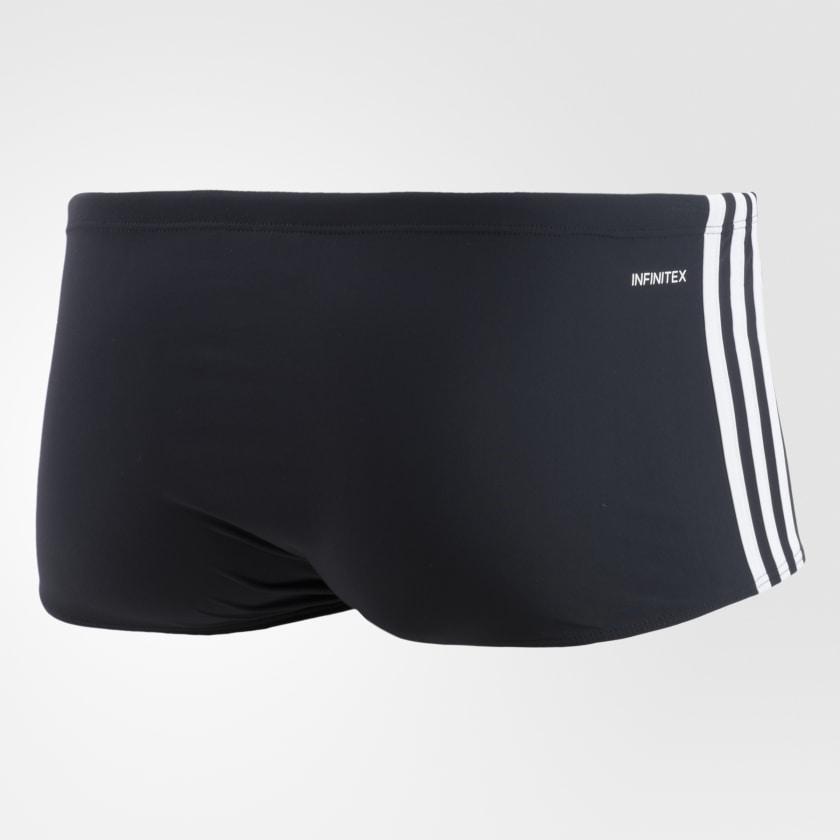 Sunga Adidas 3 Stripes Wide Adulto - Preta