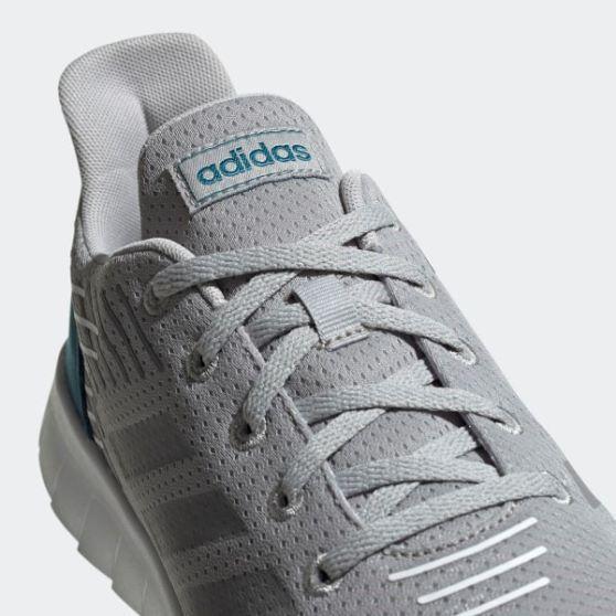 Tênis Adidas Asweerun Masculino - Gelo e Verde