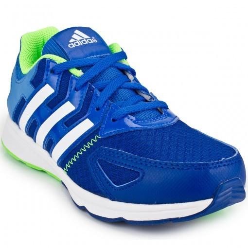 650194ebf Tênis Adidas Az-Faito K Masculino - Azul/Verde - Joinville Sportcenter