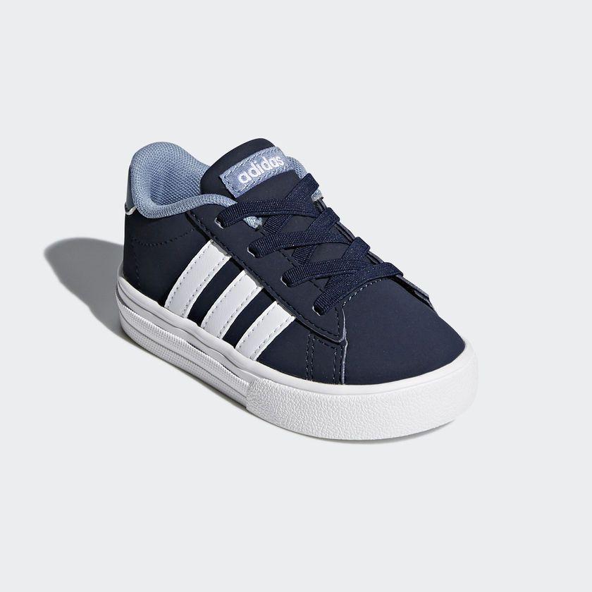 Tênis Adidas Daily 2.0 Infantil - Azul Escuro