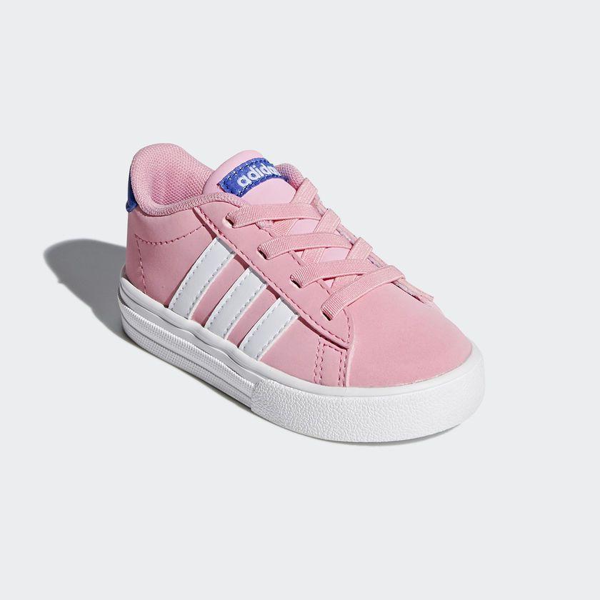 Tênis Adidas Daily 2.0 Infantil - Rosa