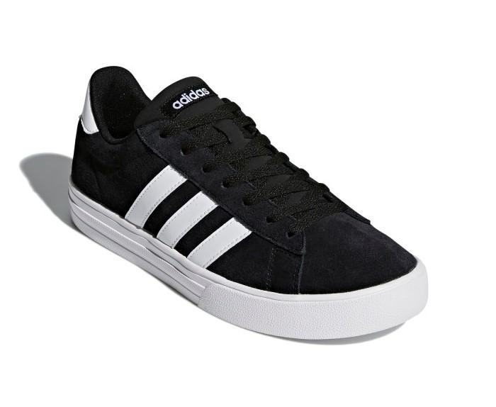 Tênis Adidas Daily 2.0 Masculino - Preto/Branco