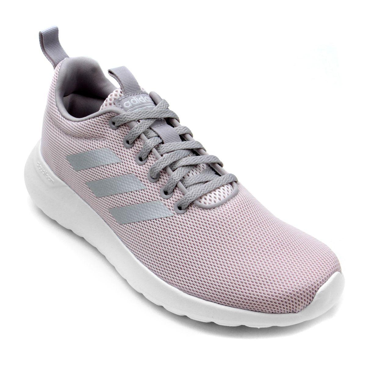 Tênis Adidas Lite Racer CLN Feminino - Cinza
