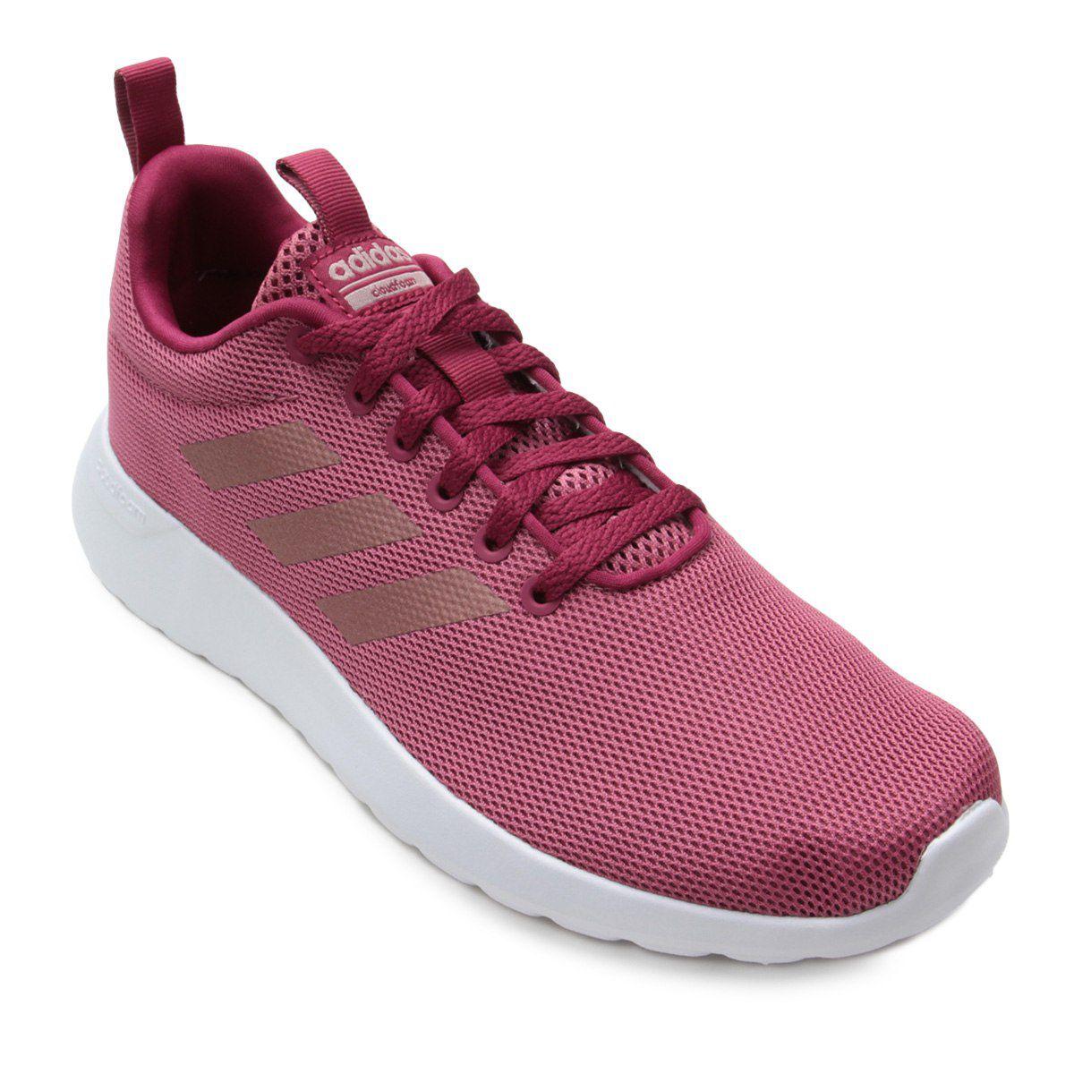 Tênis Adidas Lite Racer CLN Feminino  - Rosa