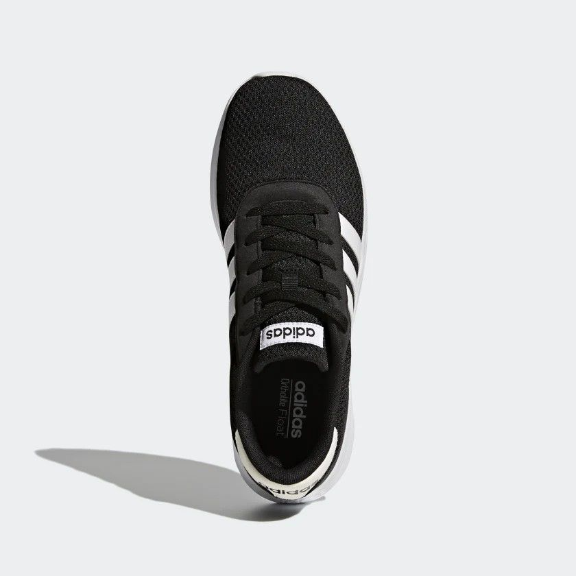 Tênis Adidas Lite Racer Masculino - Preto e Branco