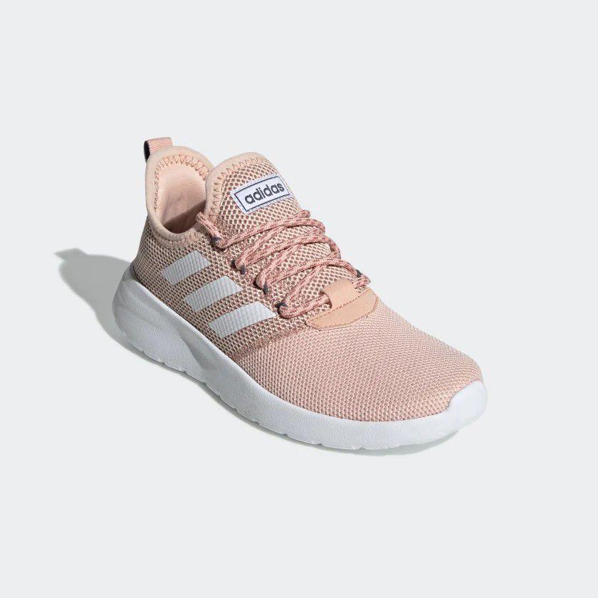 Tênis Adidas Lite Racer Reborn Feminino - Rosa e Branco