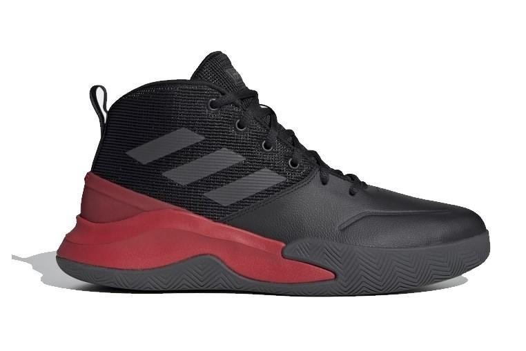 Tênis Adidas Own The Game Masculino - Preto/Vermelho