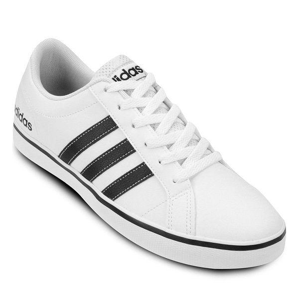 Tênis Adidas Pace VS - Masculino - Branco e Preto