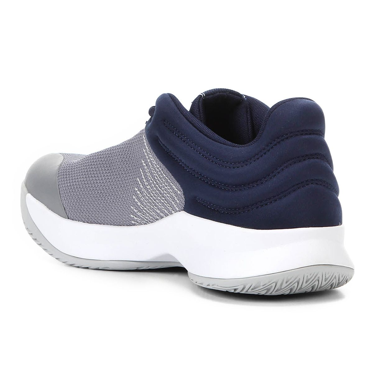 Tênis Adidas Pro Spark 2018 Low Masculino - Cinza/Azul