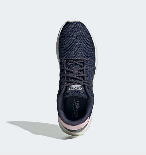 Tênis Adidas QT Racer - Feminino - Marinho e Rosa
