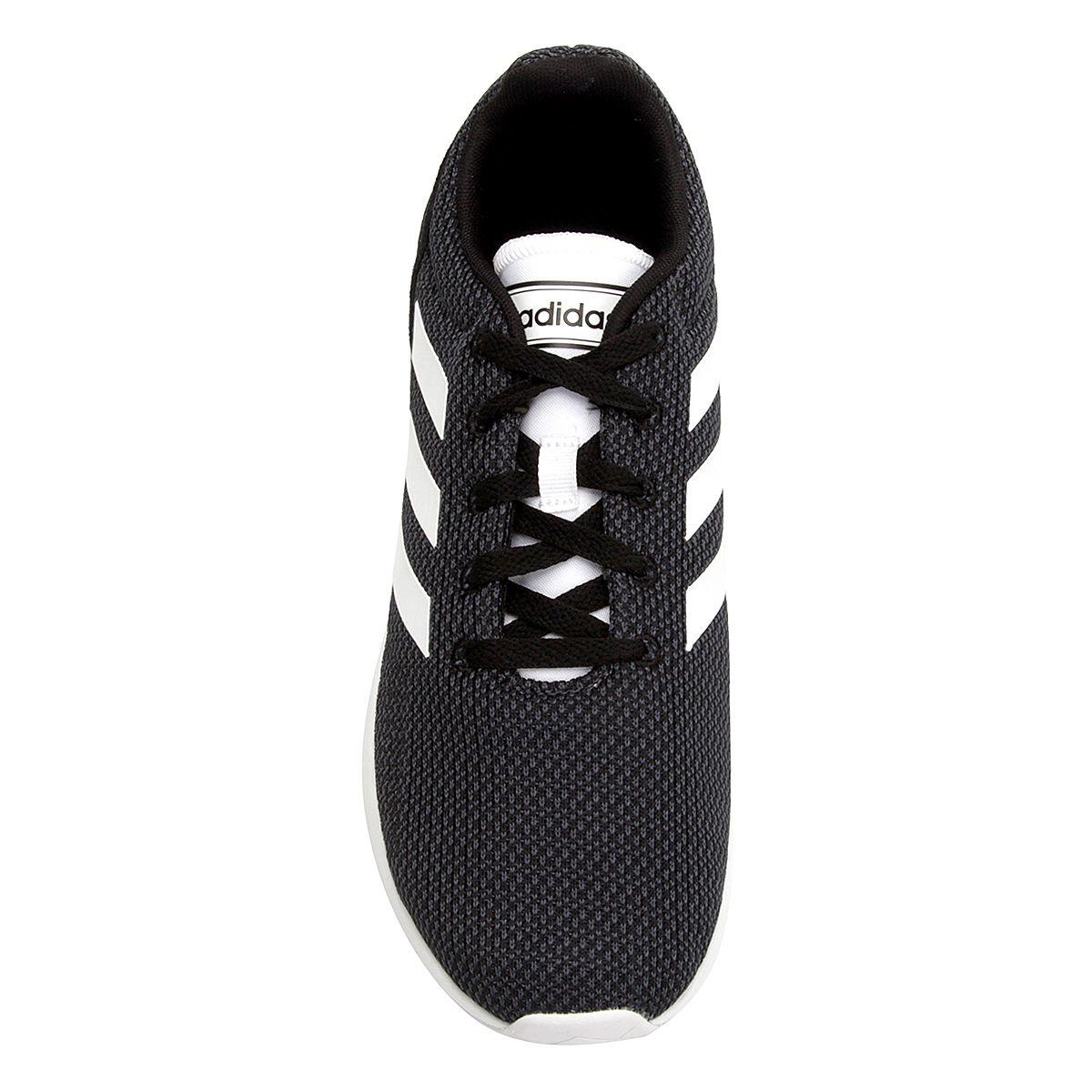 Tênis Adidas Run70S Masculino - Preto/Branco
