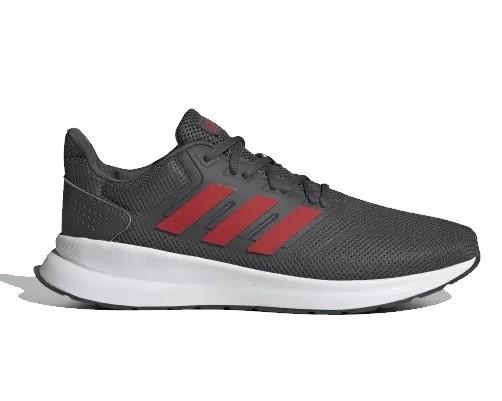 Tênis Adidas Run falcon Masculino - Chumbo / Vermelho