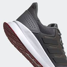 Tênis Adidas Run falcon Masculino - Chumbo / Marrom