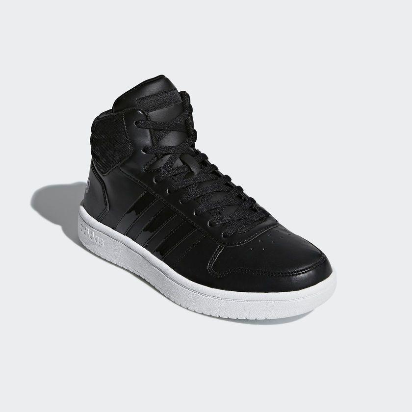 Tênis Adidas VS Hoops MID 2.0 Feminino - Preto