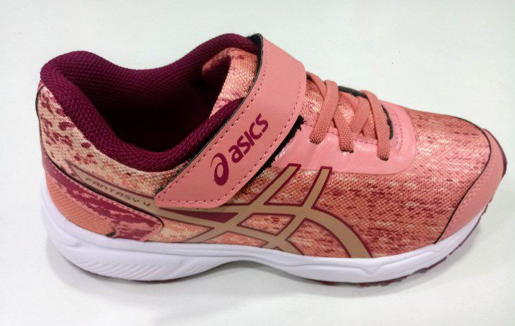 Tênis Asics Fantasy 4 PS Infantil - Rose Gold