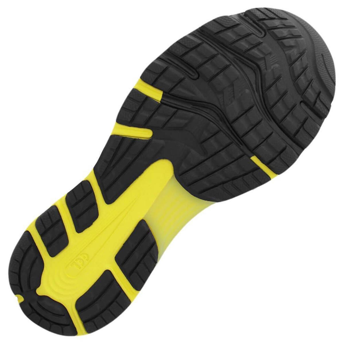 Tênis Asics Gel Nimbus 21 Masculino - Preto/Amarelo