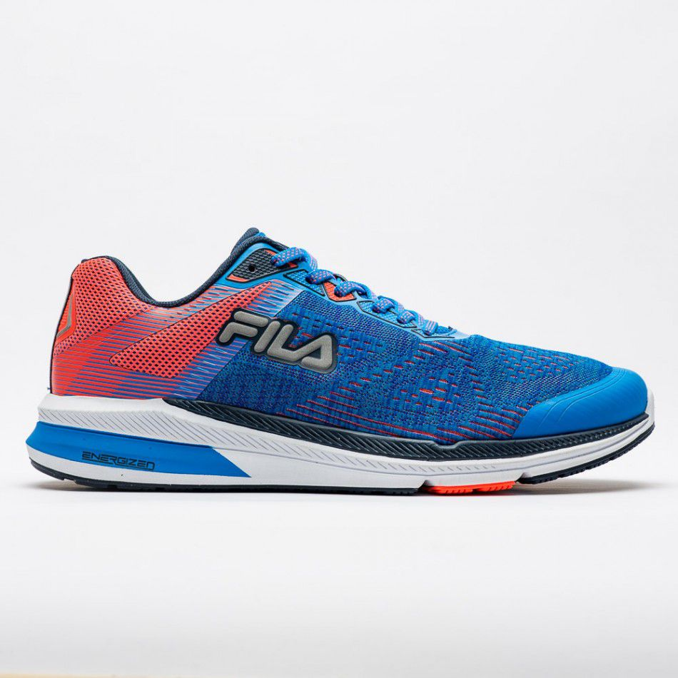 Tênis Fila FR Trainer Energized Masculino - Azul/Coral