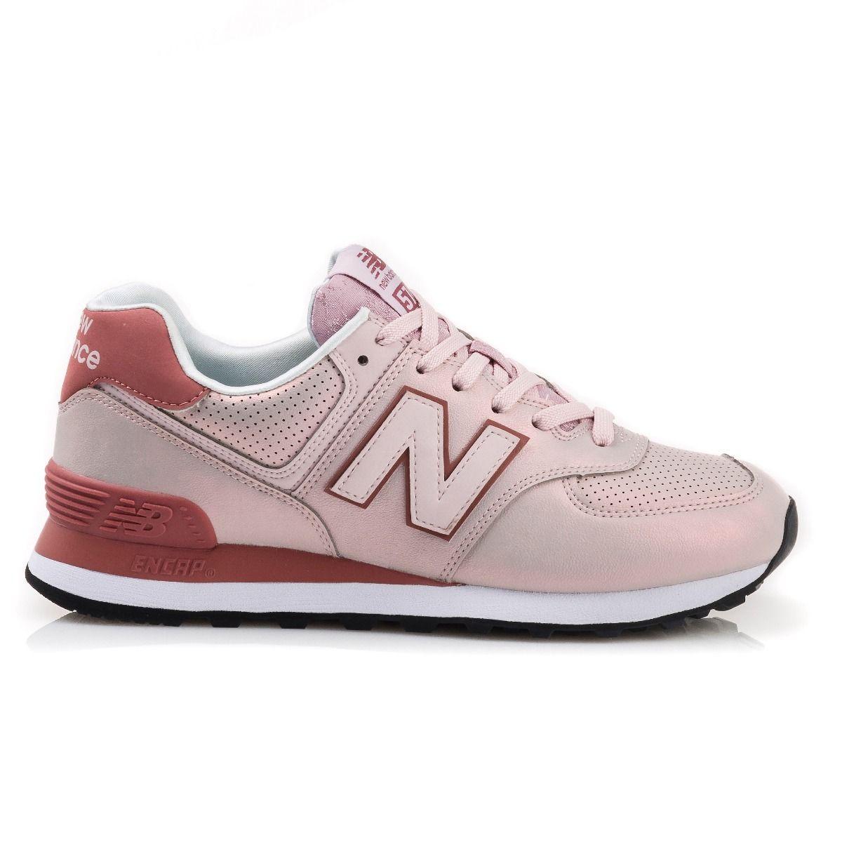 Tênis New Balance WL574KSE Feminino - Rosa