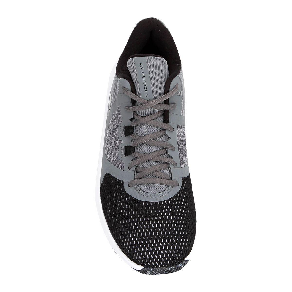 Tênis Nike Air Precision 2 Masculino - Cinza/Preto