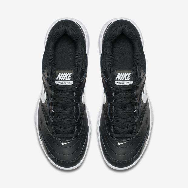 Tênis Nike Court Lite Masculino - Preto e Branco