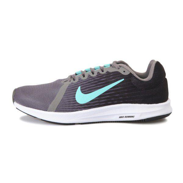 Tênis Nike Downshifter 8 Feminino - Grafite/Verde
