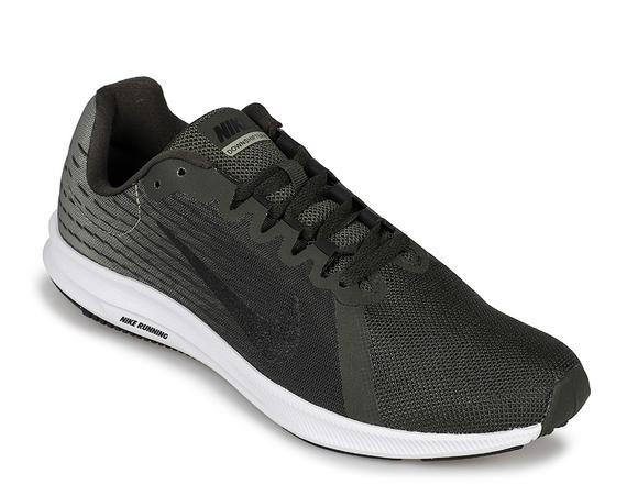 Tênis Nike Downshifter 8 Masculino - Preto e Verde