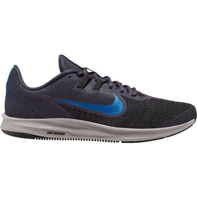 Tênis Nike Downshifter 9 Masculino - Grafite e Azul