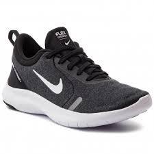 Tênis Nike Flex Experience RN 8 Feminino - Preto/Branco