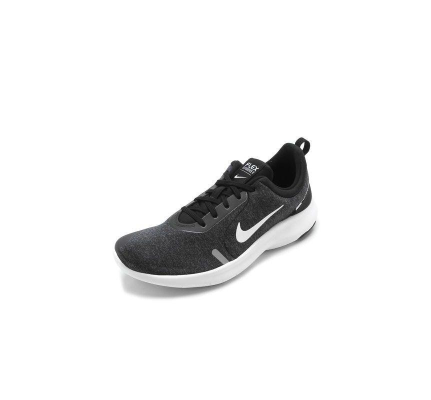Tênis Nike Flex Experience RN 8 Masculino - Preto e Branco