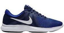 Tênis Nike Revolution 4 - Masculino - Azul e Branco
