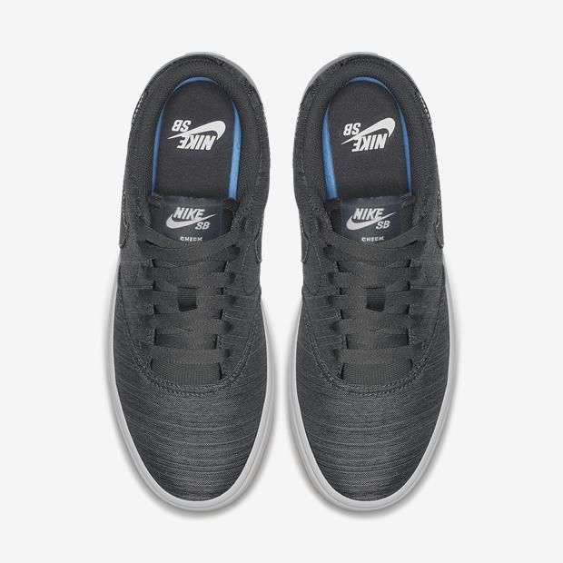Tênis Nike SB Check Solar Canvas Premium - Feminino - Cinza
