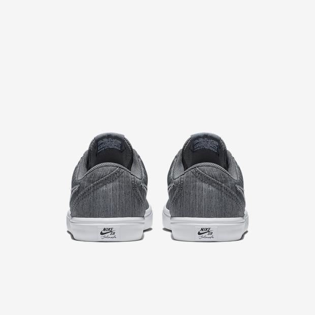3ff558567c Tênis Nike SB Check Solar Canvas Premium Feminino - Cinza ...
