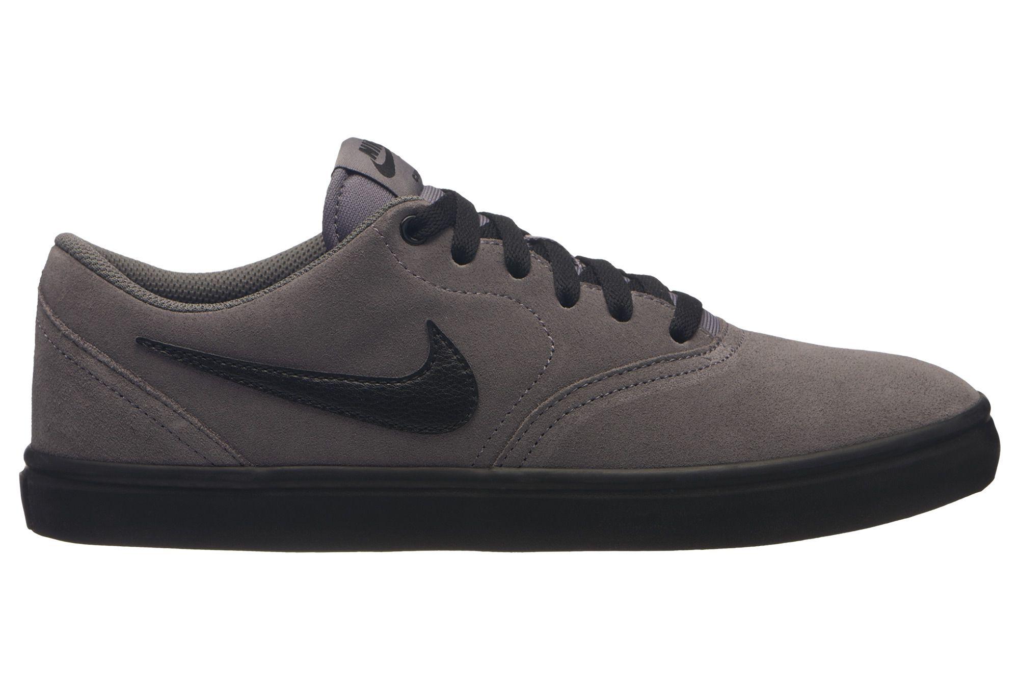 Tênis Nike SB Check Solar - Cinza/Preto