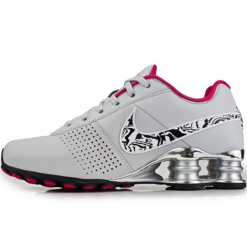 135104c6d4a Tênis Nike Shox Deliver Feminino - Cinza Rosa - Joinville Sportcenter
