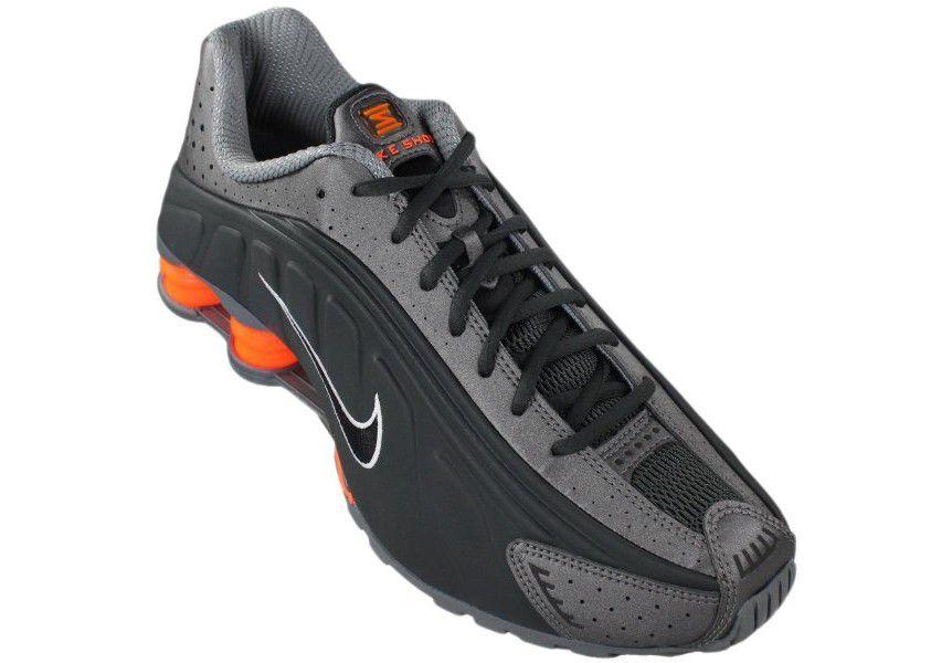 Tênis Nike Shox R4 Masculino - Chumbo