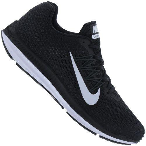 Tênis Nike Zoom Winflo 5 Masculino - Preto/Branco