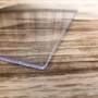 Chapa de PS Poliestireno Cristal Transparente Espessura 3mm Medida 100x200cm