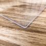 Chapa de PS Poliestireno Cristal Transparente Espessura 4mm Medida 100x200cm