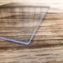 Chapa de PS Poliestireno Cristal Transparente Espessura 5mm Medida 100x200cm