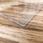 Chapa de PS Poliestireno Cristal Transparente Espessura 5mm Medida 100x50cm