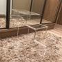 Escada de Acrilico para Closet 3 degraus