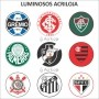 Luminoso de Parede Botafogo 40cm Acrilico LED, Luminoso de Bar e Churrasqueira, Placa Decorativa de Parede
