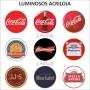 Luminoso de parede Coca Cola Tradicional 30cm Acrilico Led, Luminoso de Bar e Churrasqueira, Luminaria, Placa Decorativa de Parede