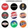 Luminoso de Parede Flamengo 30cm Acrilico LED, Luminoso de Bar e Churrasqueira, Placa Decorativa de Parede