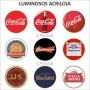 Luminoso de Parede Fluminense 30cm Acrilico LED, Luminoso de Bar e Churrasqueira, Placa Decorativa de Parede